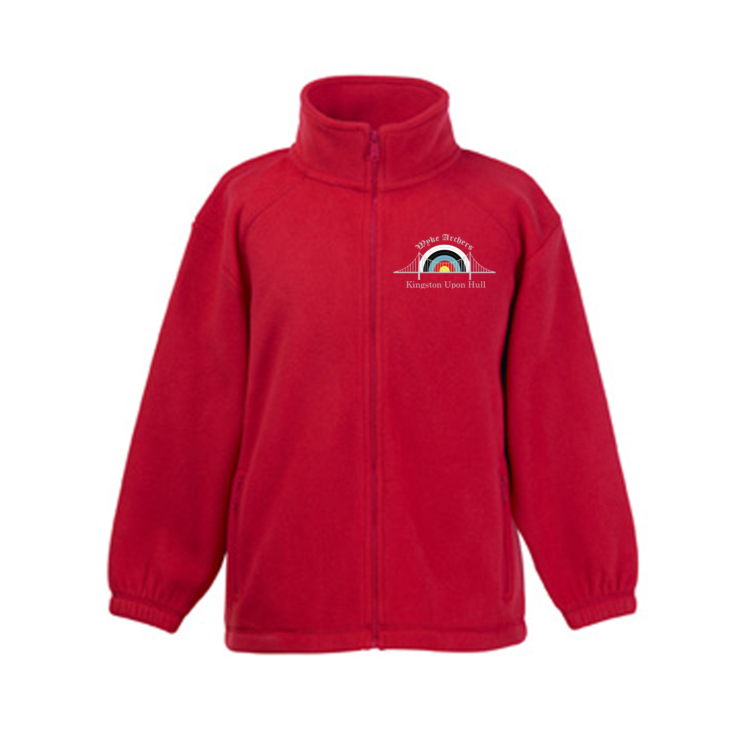 62511: Kids Full Zip Outdoor Fleece (Fruit Of The Loom)