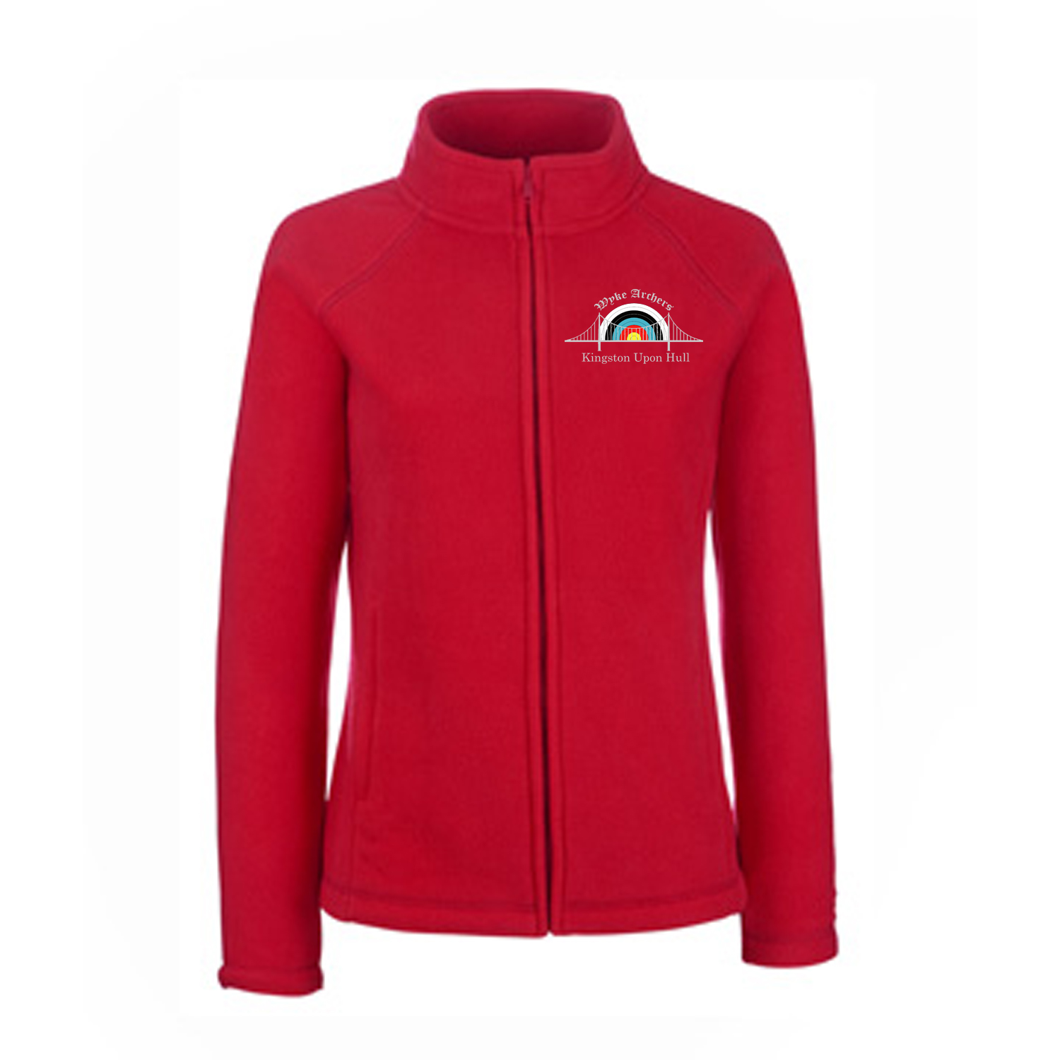 62066: Ladies Full Zip Outdoor Fleece (Fruit Of The Loom)