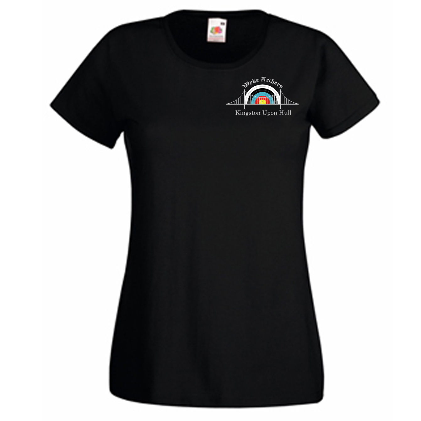 61372: Ladies Standard T-Shirt (Fruit Of The Loom)