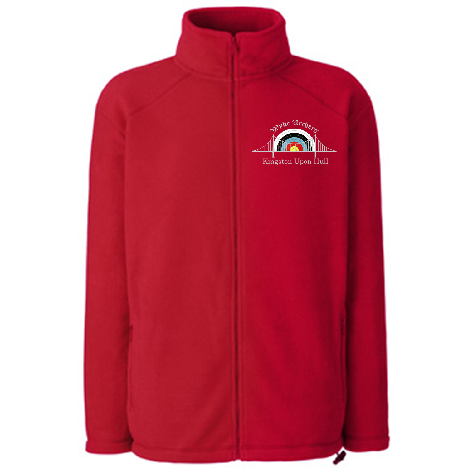 62510: Men's Full Zip Outdoor Fleece (Fruit Of The Loom)