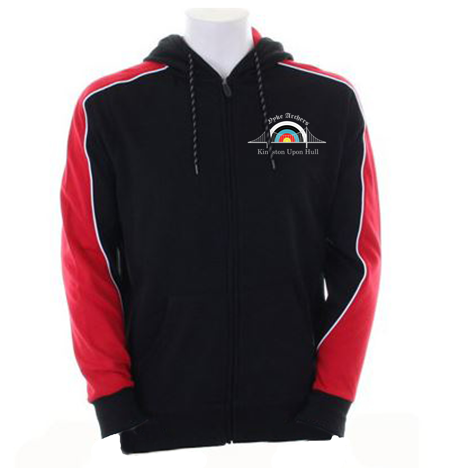 KK959: Unisex Formula Racing Clubman Hooded Top